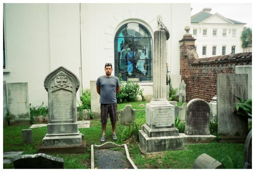 Brian, Staing Glassed Graves, Charleston, Jun13