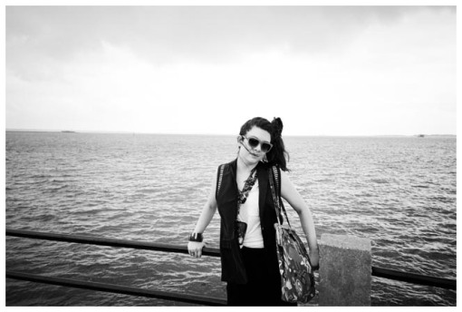 Carly @ Fort Sumter, Charleston, Jun13