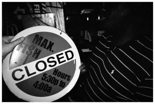 Closed, Max Fish, May13