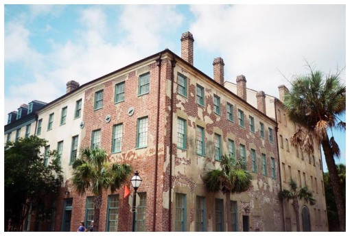 deteriorated building 2, DT Charleston, Jun13