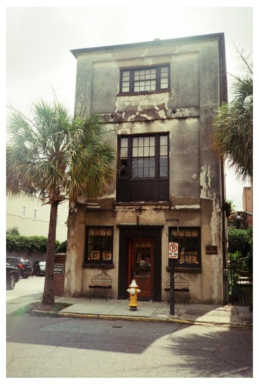deteriorated building, DT Charleston, Jun13
