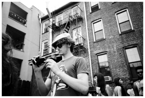 Freddo, Camera @ FlavYa BBQ, Bedstuy, June13