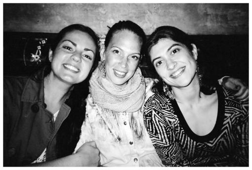 Kristina, Kimberly, Sarah @ Motto, May13
