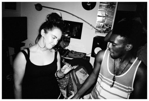 KT, Dancing @ FlavYa BBQ, Bedstuy Jun13
