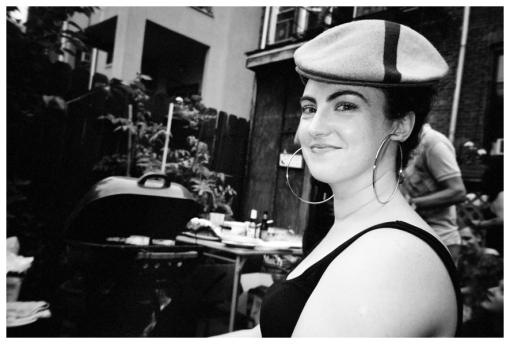 KT, Hat @ FlavYa BBQ, Bedstuy, June13