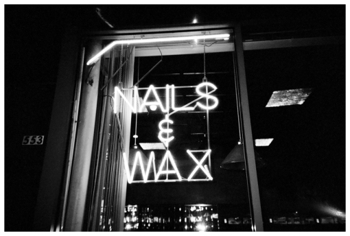 Nails and Wax, boys town, Chi Jul13