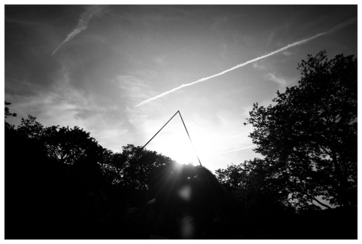 Nature, Triangle, Writing in the Sky, May13