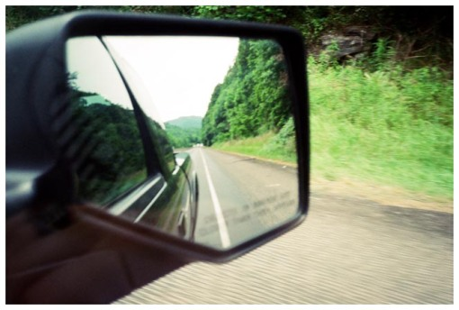 On the Road, Rear View, Deep South, Jun13