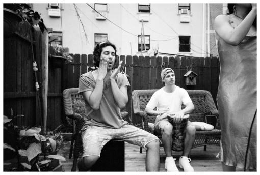 Ramiro, Face Slap, Daniel @ FlavYa BBQ, Bedstuy, June13