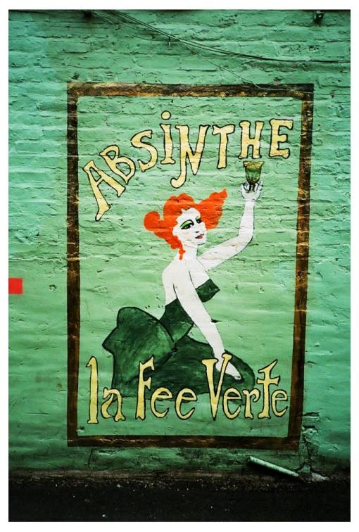 Absinthe, La Fee Verte, Chi, Jul13