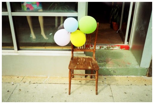 Balloons, Un happy, Wicker Park, CHI jul13