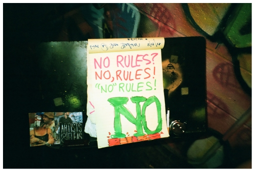 No Rules, Shea Stadium, Aug13