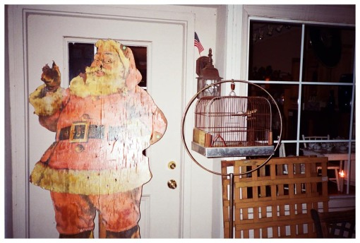 Santa, Birdcage, Waynesville, Jun13