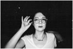 Carly in Alfredo's Glasses @ Sidewalk Cafe,Aug13