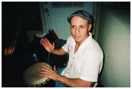 Daniel, Bongos, BBQ, Aug13