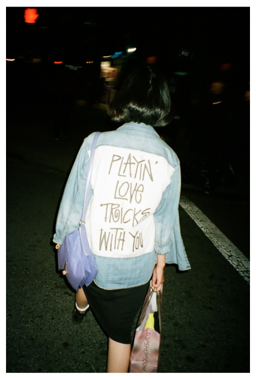 Playing Love Tricks, Soho, Aug13