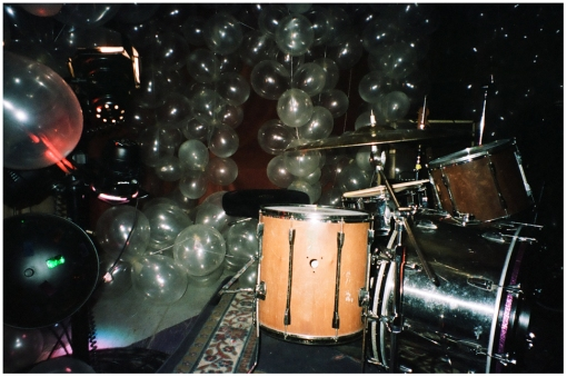 Balloons and Drums @ Silent Barn, Oct13