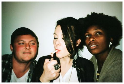 Rye, Carly, Ashlea, Smoke Circle, oct13