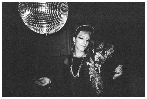Stranger w Disco Ball @ Raven, Oct13