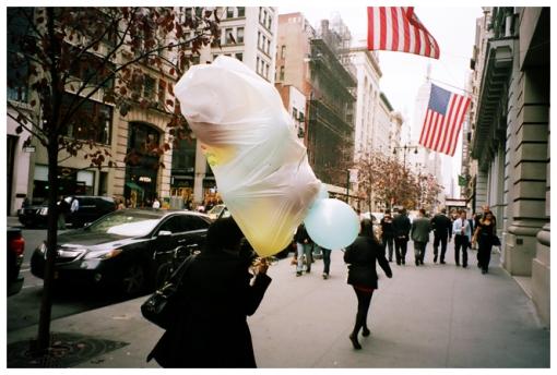 Balloons, Plastic Bag, Flaitiron Dist.,Oct13