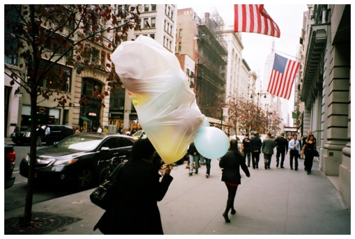 Balloons, Plastic Bag, Flaitiron Dist.,Oct13