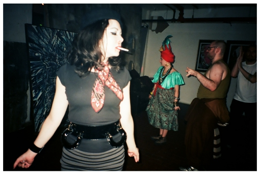 Carly 2 @ Newsonic, Halloween, Oct13