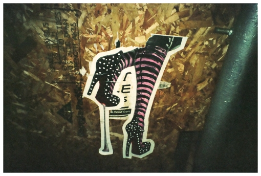 Legs, Stripes, Soho, Sticker, Nov13