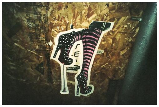 Legs, Stripes, Soho, Sticker, Nov13