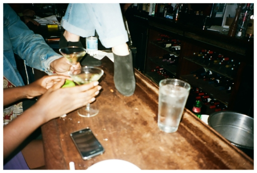 Letting Loose, Champange Bar, Oct13