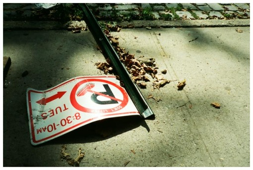 No Parking, Keep it Moving, Clinton Hill, Jul13