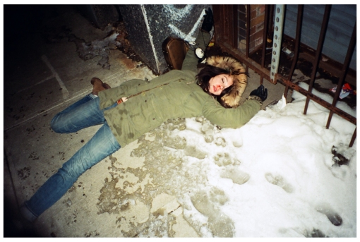 Carly, Dead, Blood, Clinton Hill, Dec13