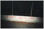 Cartoon Bacon, Real Tears, Williamsburg BQEW,Nov13