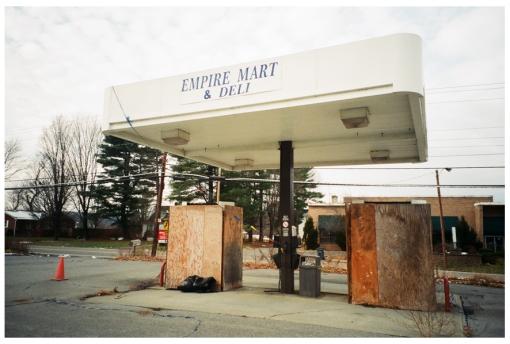 Empire Mart, Empty, Kingston, NY Dec13