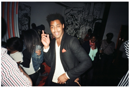 Man dancing @ Free Candy, Dec13