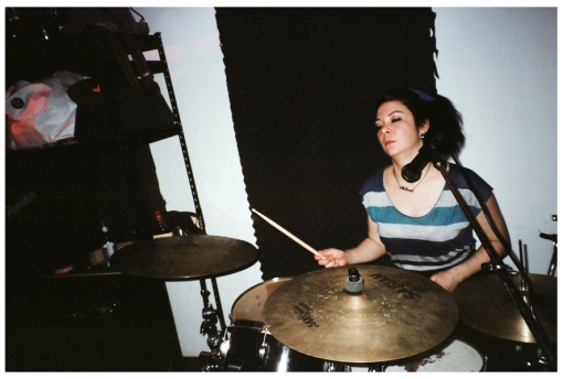 Carly Carbine, Drums, Wild Bore, Jan14