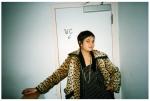 Girl in Leopard Print by WC @ Dorris, BrooklynDec13