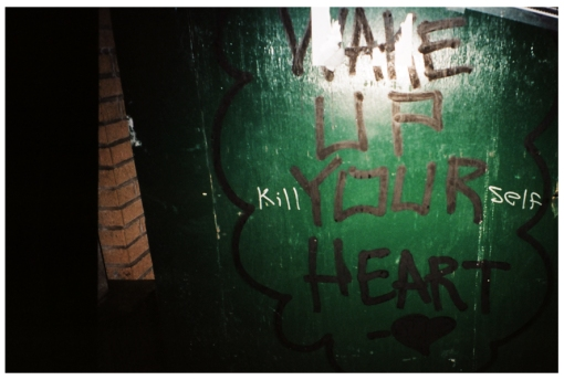 Kill Yourself, Wake up Your Heart, Soho, Jan14