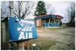 Free Air, Abandoned Gas Station, Lebanon,Dec13