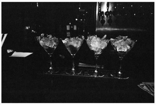 Ice, Drinks, Dive Bar, Dec13
