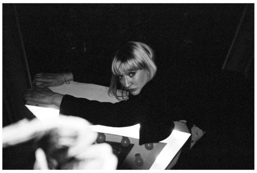 Blonde, Arrow, Hotel, Dec13