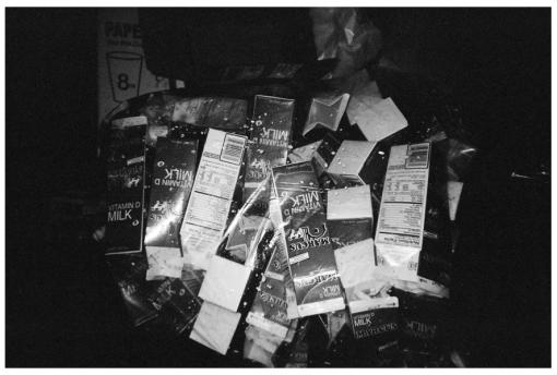 Milk, Plastic Bag, Williamsburg, Dec13