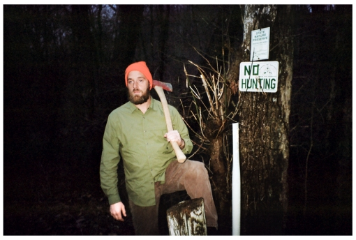 One Punch Mark, Axe, No Hunting, Oregonia, Dec13