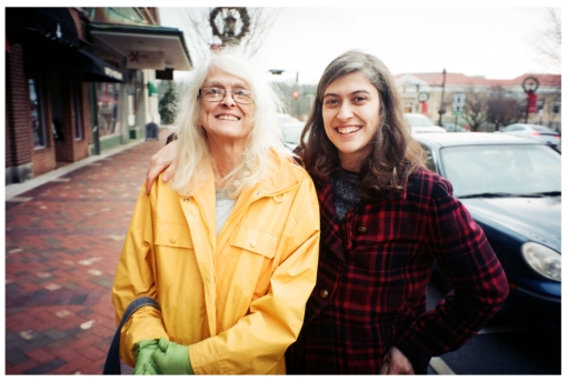 Sarah and Chery, Downtown, Dec13