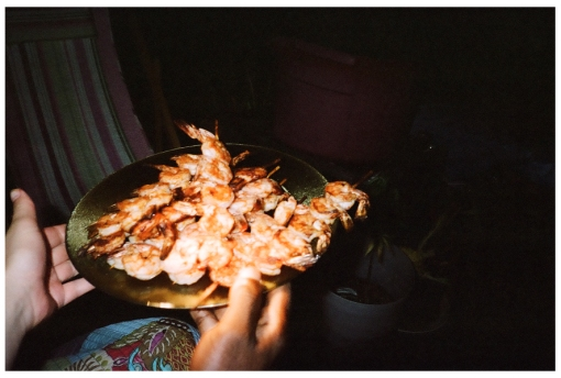 Cajun Shrimp, Bedstuy Rooftop, May14