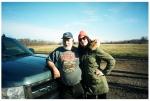 Dad, Carly, Farm House, Truck, OhioDec13