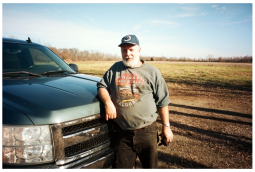 Dad, Farm House, Truck, Ohio Dec13