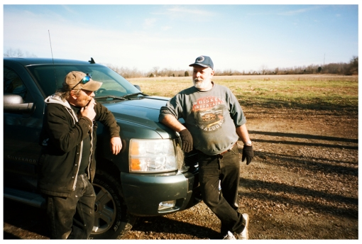 Dad, Nathan, Farm House, Ohio Dec13