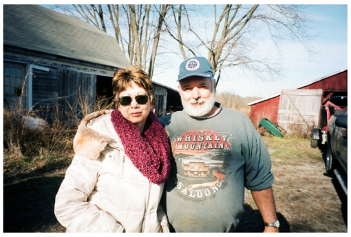 Mom, Dad, Farm House, Ohio Dec13