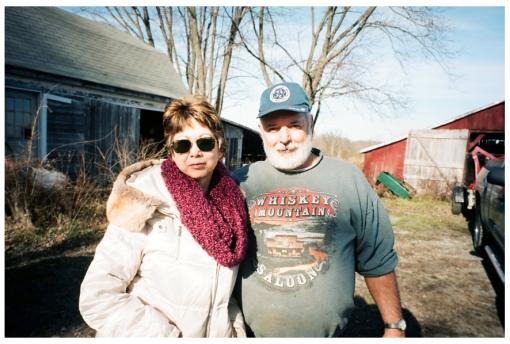 Mom, Dad, Farm House, Ohio Dec13