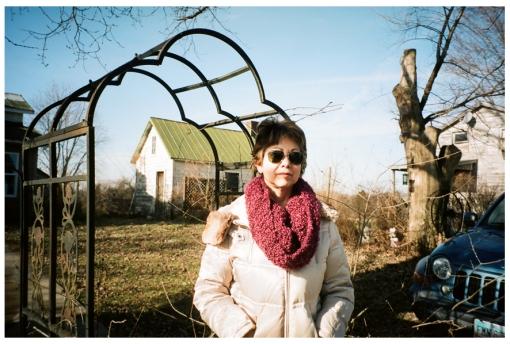 Mom, Farm House, Ohio Dec13
